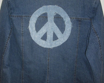 Altered Couture Jean Jacket