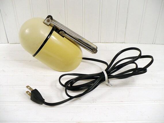 Vintage Plastic Task Lamp Windsor Fold-Up Egg Adjustable Arm Desk Light