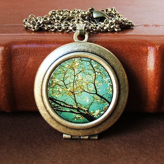 Reach-Photo Art Locket Necklace