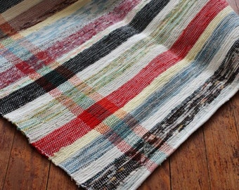 Hand Woven Rug or Runner 27 x 59