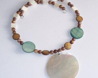 Island Time Shell Choker Necklace