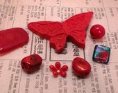cpj157 - Just red - destash