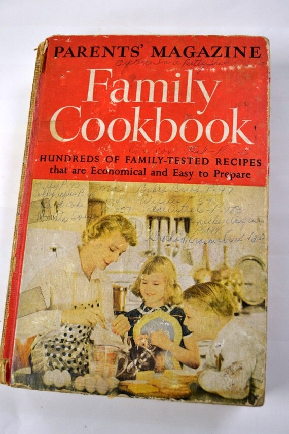 Vintage Cookbook Parents' Magazine Family Cookbook by Blanche M. Stover