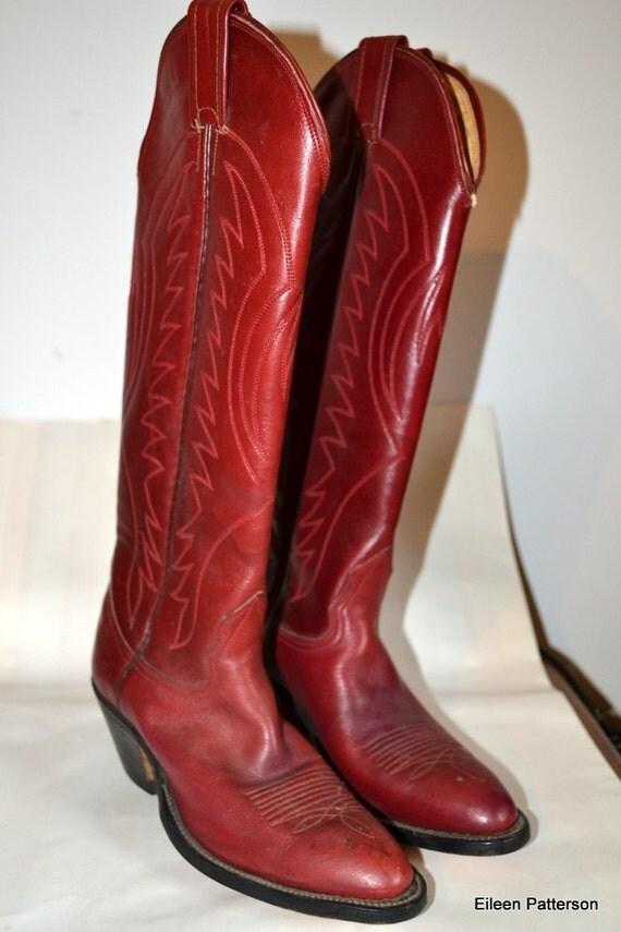 Vintage Womens Nocona Boots
