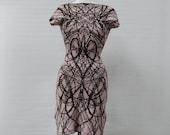 SAMPLE SALE Heartburst Boatneck Dress