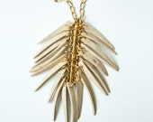 Coconut Spike Necklace - Natural