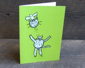 So Long, Shithead  Blank greeting card