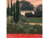 Poppies No.2, Original, Signed, Fine Art Photograph matted to 8x10