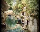 Zhouzhuang,  6x6 Original, Signed, Fine Art Photograph