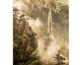Waterfall, 4 x 6 Original Fine Art Photograph