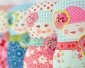Matryoshka  Art Doll - Fru Martinsen