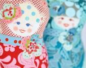 Matryoshka  Art Doll - Fru Svartebekk