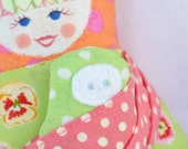 Shop closing sale - 40% off all items - refund upon payment - Attachment Parenting inspired Scandinavian Matryoshka  Doll