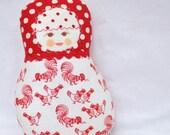 Scandinavian Matryoshka Art Doll - Fru Fet