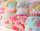 Custom Listing for Valerie - Scandinavian Matryoshka  Art Doll
