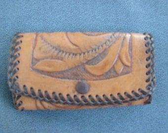Vintage Hand-tooled Keycase