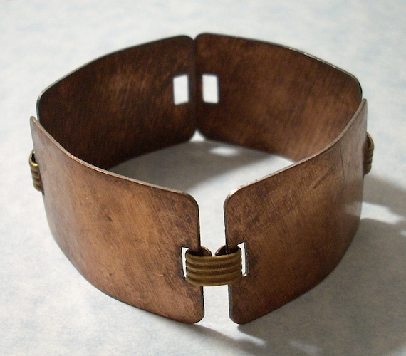 Vintage Copper Bracelet Blank
