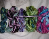 Freeform Crochet Handspun Yarn Kit