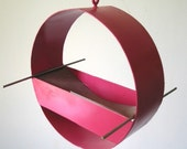 Charm / Hanging Bird Feeder - Berry Pink