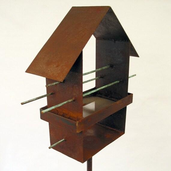 Abstract Bird Feeder No. 190