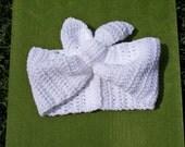 1940s Turban Head Wrap crocheted