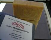 Juniper Alert Goat Milk Soap