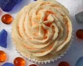 Orange Vanilla Bubble Bath Cupcake