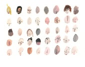 Forty Faces - PRINT - 11/40
