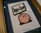 Kirby Cross stitch