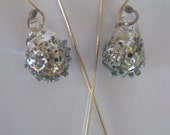 Sparkle and Gold Earrings
