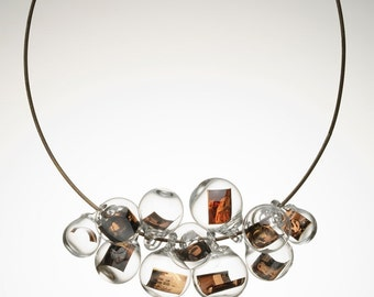 Slices of life necklace