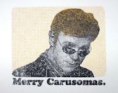 Merry Carusomas Gocco Card
