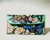 Butterflies Small Wallet Clutch