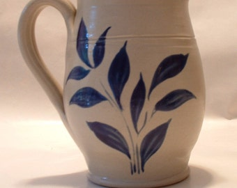 Vintage  Williamsburg Pottery Pitcher