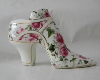 Vintage Porcelain Shoe