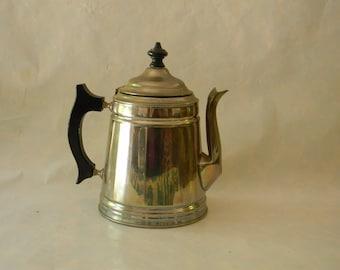 Vintage Antique Manning Bowman Teapot Tea Pot Coffeepot