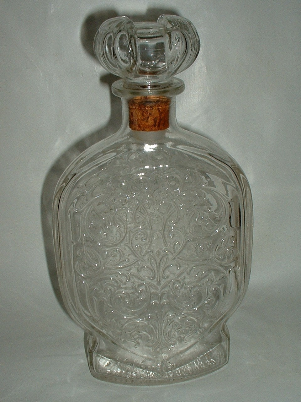 Vintage Large Schenley Decanter Bottle With Stopper