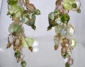 Earthy Chandelier Earrings