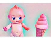 ice cream print 5 x 7 KEWPIE WANT
