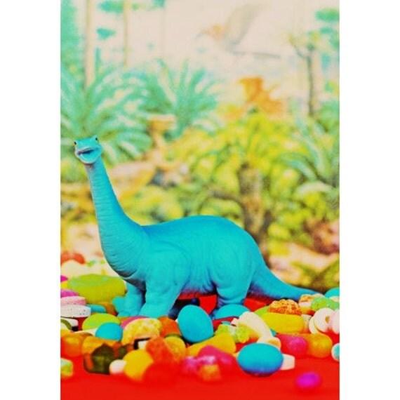 dinosaur print 8 x 12 YUMASAURUS
