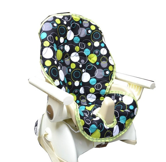 Pick your own fabric for a space savor high chair cover