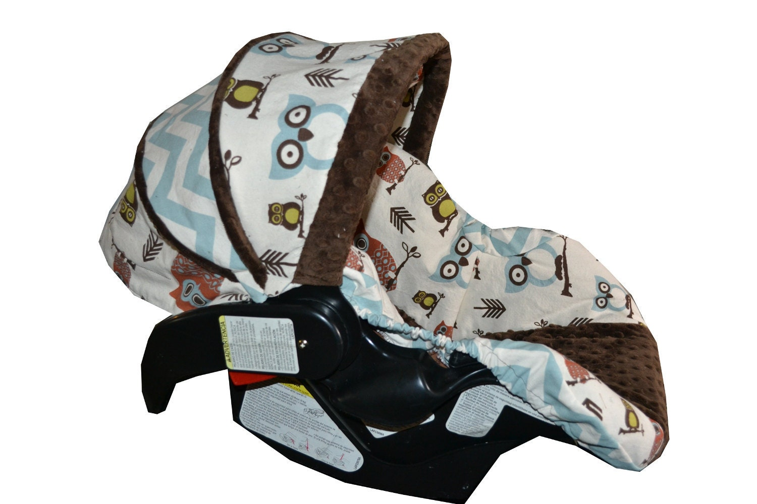 Items Similar To Made To Order Owl Car Seat Cover For Any