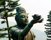 Tian Tan Buddha No. 3 Female Disciple  Print 8X10