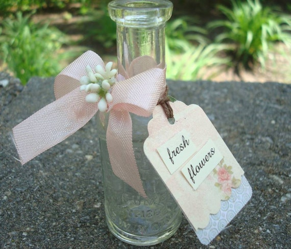 Antique Bottle for fresh flowers Perfumer