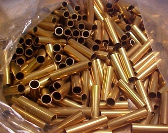 10  Brass Tubes or Spacers, 35mm x 7mm