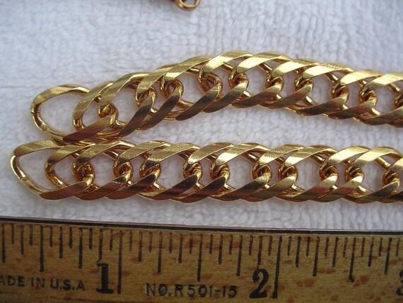 6 feet of Shiny Brass Chain, 10mm x 15mm