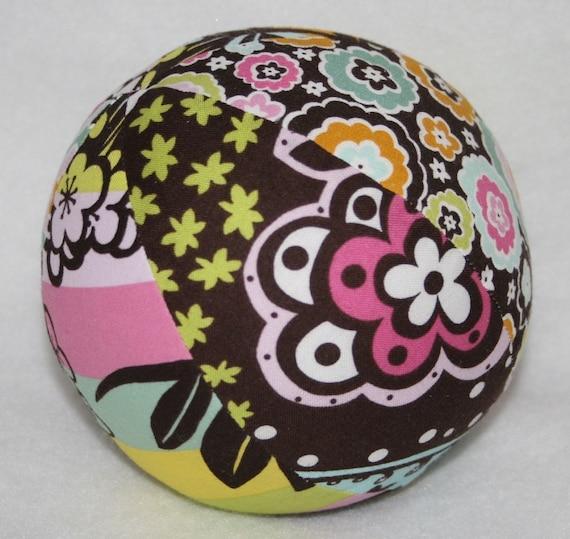 Chocolate Lollipop No5 -Large Cloth Jingle Ball