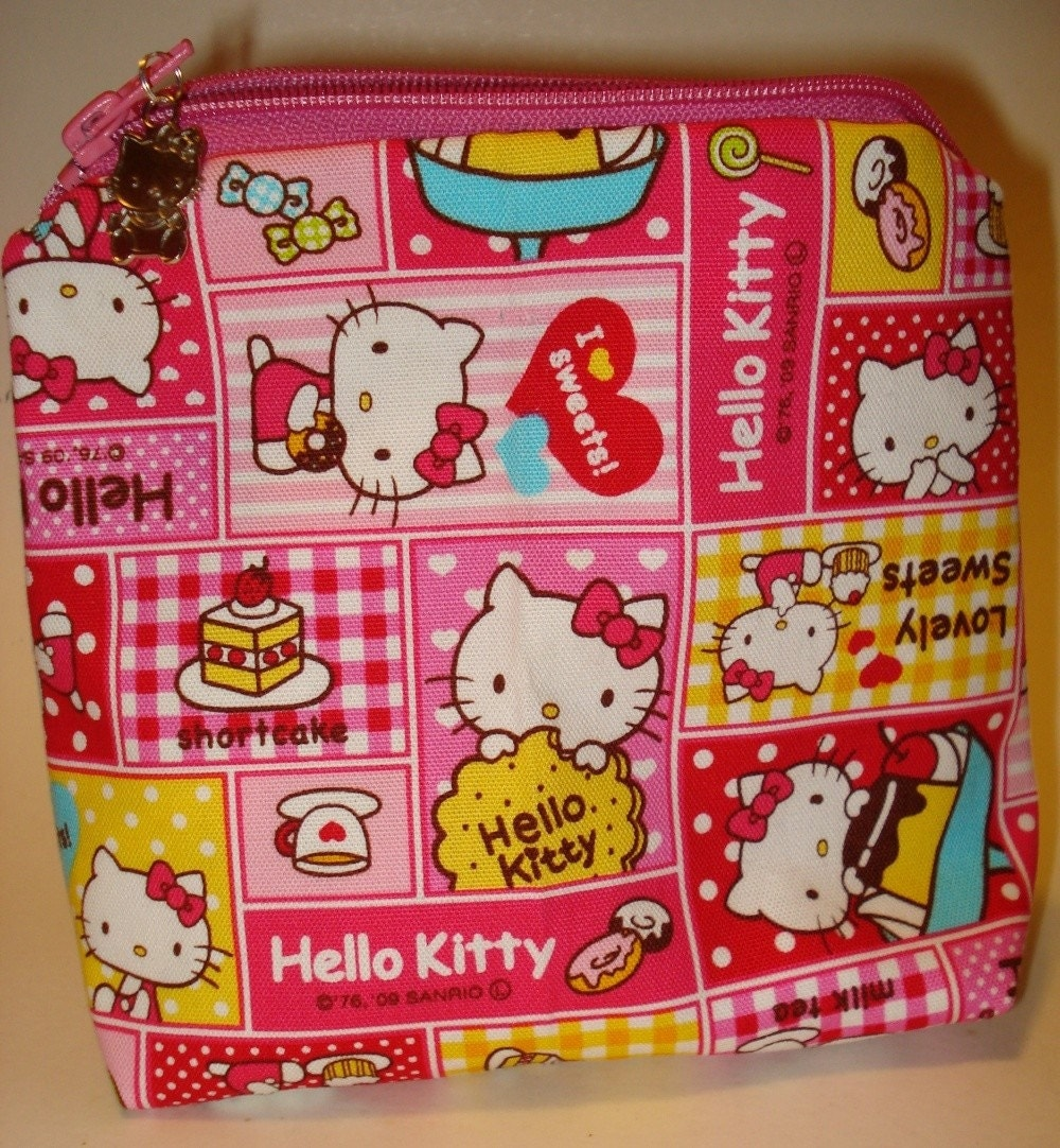 Large Hello Kitty Cosmetic Bag