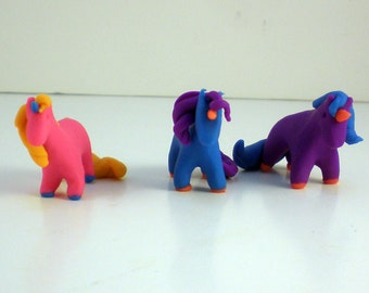 Mini Unicorn Erasers