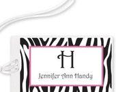 Personalized Laminated Luggage Tag